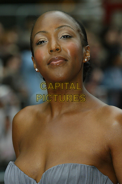 "ANGELLICA BELL.""Life In A ... METRO"" world premiere at the Empire Leicester Square, London, England..May 8th, 2007.headshot portrait angelica strapless .CAP/DAR.©Darwin/Capital Pictures"