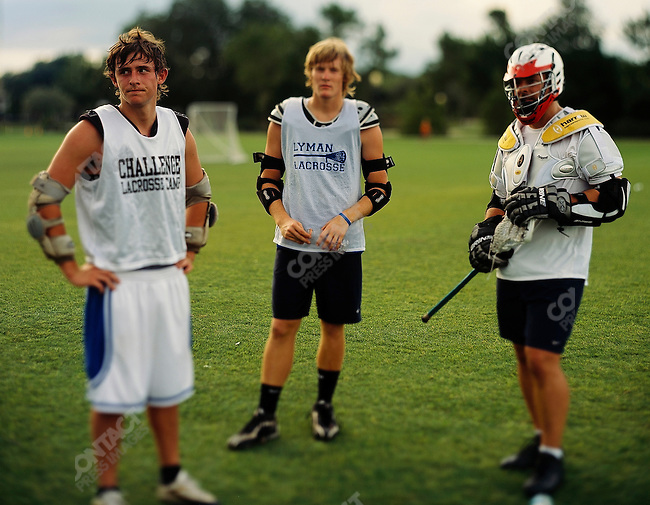 Playing lacrosse. Orlando, Florida. June-October 2006.