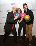 Frank Wood, Maddie Corman and Michael Oberholtzer attends the Paul Rudd hosts the Sixth Annual Paul Rudd All Star Bowling Benefit for (SAY) on January 22, 2018 at the Lucky Strike Lanes in New York City.