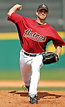 16 March 2007: Houston Astros pitcher Chris Sampson in action against the New York Yankees at Osceola County Stadium in Kissimmee, Florida...Mandatory Photo Credit: Ed Wolfstein Photo