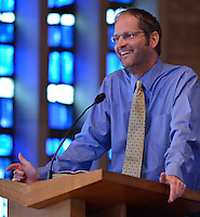 Dr. Stephen Prothero speaks during Louisville Presbyterian Theological Seminary's Engagement Week 2013.