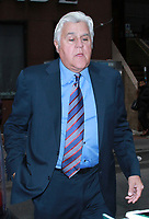 NEW YORK, NY - March 12: Jay Leno seen leaving NBC's  Today Show after promoting the new season of Jay Leno's Garage on March 12, 2019 in New York City. <br /> CAP/MPI/RW<br /> &copy;RW/MPI/Capital Pictures