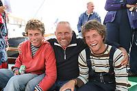 ZEILEN: skûtsje Gerben van Manen Heerenveen, Harmen-Pieter-Sytze Brouwer 2006, ©foto Martin de Jong