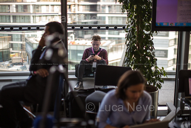London, 06-07/05/2016. The morning after the London Mayoral Election, press began to congregate on the ninth floor of City Hall to report on the results and the official announcement of the new Mayor of London. At 15:21, the press team of City Hall announced the results by constituency. At just gone 17:30, the press videographers and photographers were escorted downstairs to the Chamber (second floor) to wait for the official final announcement. The press waited, however, almost five hours for this to happen. At 22:11, the Greater London Returning Officer, Jeff Jacobs, approached the stage and presented the new Greater London Assembly members. And, finally, at 12:18 on the 7th of May (just under nine hours after the first City Hall press announcement), Mr Jacobs officially announced the new Mayor of London, Sadiq Khan for the Labour Party. An official statement (that you can find at https://londonelects.org.uk/news-centre/news-listing/election-count-delay-explained and in the PDF attached to this story) was released on the 7th of May to explain the delay - which was previously described as being due to &quot;minor discrepancies in Mayoral figures&quot;. <br />