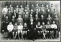 Syrie 1950?.Ecole des Freres a Damas.Syria 1950?.Damascus: Photo of a classroom
