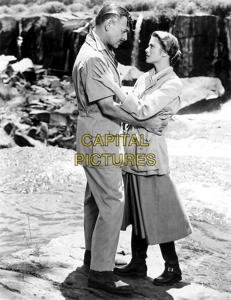CLARK GABLE & GRACE KELLY.in Mogambo (1953).*Filmstill - Editorial Use Only*.CAP/STF/PEL.Supplied by Capital Pictures.