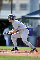 February 20, 2009:  Outfielder Matt Burnett (24) of the University of Connecticut during the Big East-Big Ten Challenge at Jack Russell Stadium in Clearwater, FL.  Photo by:  Mike Janes/Four Seam Images
