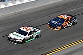 Monster Energy NASCAR Cup Series<br /> Daytona 500<br /> Daytona International Speedway, Daytona Beach, FL USA<br /> Sunday 18 February 2018<br /> Gray Gaulding, BK Racing, Toyota Camry, Justin Marks, Rick Ware Racing, HARRY'S Chevrolet Camaro<br /> World Copyright: Logan Whitton<br /> LAT Images
