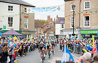 Picture by Allan McKenzie SWpix.com - 03/05/2018 - Cycling - 2018 Tour de Yorkshire - Stage 1: Beverley to Doncaster - The peloton comes through Pocklington.