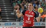 Nach 167 L&auml;nderspielen mit 576 Toren beendet Holger Glandorf seine Karriere in der deutschen Handball-Nationalmannschaft. Der 31-j&auml;hrige Linksh&auml;nder war 2007 Weltmeister und gewann im Juni mit der SG Flensburg-Handewitt die Champions League<br /> Archiv aus: <br />  20.08.2013, &Ouml;VB Arena, Bremen, GER, HBL, Supercup, THW Kiel vs SG Flensburg-Handewitt, im Bild Holger Glandorf (Flensburg #9)<br /> <br /> Foto &copy; nph / Frisch *** Local Caption ***