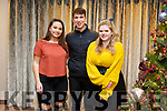 At the Launch of 'A Christmas Hug' CD in aid of Inspired at The Rose Hotel on Friday. Pictured Danielle Pierse, Shamus Harty and Leslie Mccarthy