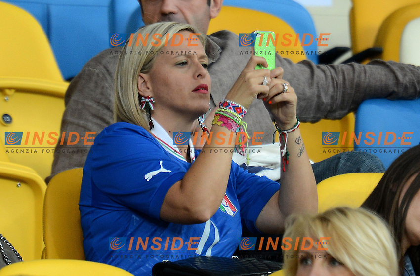 "Ilenia DI NATALE (Italia).Kiev 24/06/2012  ""Stadio Olimpico"".Football calcio Europeo 2012 Inghilterra Vs Italia.Football Calcio Euro 2012.Foto Insidefoto Alessandro Sabattini..."