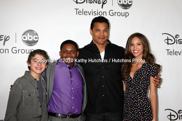 LOS ANGELES - AUGUST 1:  Ryan Ochoa, Doc Shaw, Geno Segers, & Kelsey Chow arrive(s) at the 2010 ABC Summer Press Tour Party at Beverly Hilton Hotel on August 1, 2010 in Beverly Hills, CA...