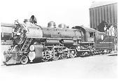 D&amp;RGW #1206 in Denver.<br /> D&amp;RGW  Denver, CO  8/18/1939