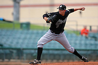 July 17 2008: Joe Patterson of the San Jose Giants during game against the Lancaster JetHawks at Clear Channel Stadium in Lancaster,CA.  Photo by Larry Goren/Four Seam Images