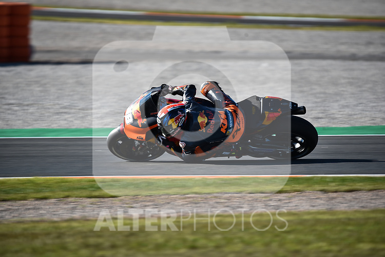 Free practice in a championship of motorcycling GP of Valencia in Spain 2017 in Ricardo Tormo Circuit. Day two.