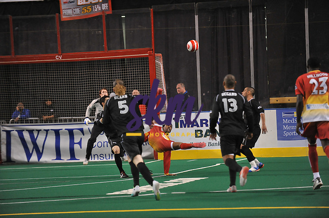 After winning the first game on the road of the MISL Playoffs the Baltimore Blast hosted the Chicago Soul Saturday night at First Mariner Arena in game 2. Despite trailing at the half 0-5, the Blast came on strong in the third quarter and held on to advance to the Championships next week by defeating the Soul 10 -7. After winning the first game on the road of the MISL Playoffs the Baltimore Blast hosted the Chicago Soul Saturday night at First Mariner Arena in game 2. Despite trailing at the half 0-5, the Blast came on strong in the third quarter and held on to advance to the Championships next week by defeating the Soul 10 -7.