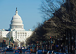 Washington D. C., capitol building