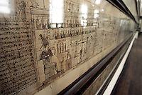 Il Libro dei Morti nel Museo Egizio di Torino.<br /> The Book of the Dead in the Egyptian Museum of Turin.<br /> UPDATE IMAGES PRESS/Riccardo De Luca