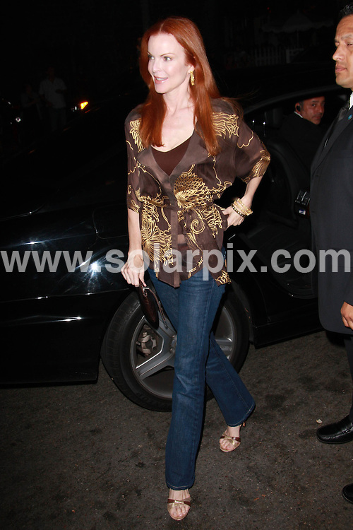 **ALL ROUND PICTURES FROM SOLARPIX.COM**.**WORLDWIDE SYNDICATION RIGHTS**.**NO PUBLICATION IN AUSTRALIA, DENMARK, GERMANY, NEW ZEALAND, RUSSIA, UK OR USA**.Marcia Cross attends the Exclusive Verizon Launch party for the Blackberry Pink Curve in Beverly Hills. Hollywood, California, USA. 27th August 2008..This pic: Marcia Cross..JOB REF: 7144 LAP (JS)       DATE: 27_08_2008.**MUST CREDIT SOLARPIX.COM OR DOUBLE FEE WILL BE CHARGED* *UNDER NO CIRCUMSTANCES IS THIS IMAGE TO BE REPRODUCED FOR ANY ONLINE EDITION WITHOUT PRIOR PERMISSION*