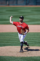 Erie SeaWolves pitcher Zac Houston (41) during an Eastern League game against the Harrisburg Senators on June 30, 2019 at UPMC Park in Erie, Pennsylvania.  Erie defeated Harrisburg 4-2.  (Mike Janes/Four Seam Images)