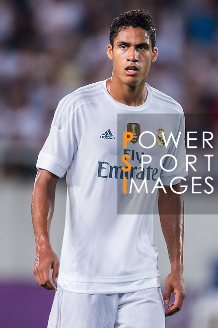Raphael Varane of Real Madrid CF looks on during the FC Internazionale Milano vs Real Madrid  as part of the International Champions Cup 2015 at the Tianhe Sports Centre on 27 July 2015 in Guangzhou, China. Photo by Aitor Alcalde / Power Sport Images