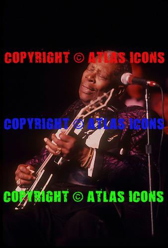 BB KING, LIVE, 1999, NEIL ZLOZOWER,