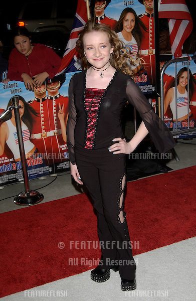 Actress SCARLET THOMAS at the Los Angeles premiere of What A Girl Wants..March 27, 2003