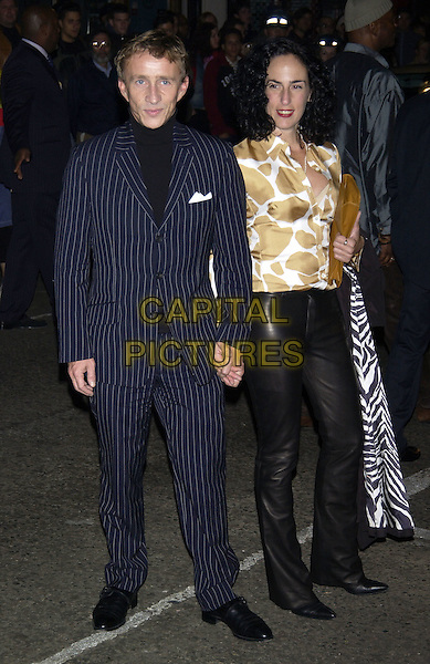 """JASPER CONRAN.""""Layer Cake"""" world film premiere at.Electric Cinema, Portabello Road, Notting Hill.London 23 September 2004..full length pin stripe suit.Ref: PL.www.capitalpictures.com.sales@capitalpictures.com.©Capital Pictures."""