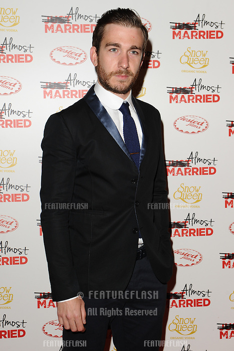 """Philip McGinley arives for the """"Almost Married"""" Gala Screening at the Mayfair Hotel, London. 26/03/2014 Picture by: Steve Vas / Featureflash"""