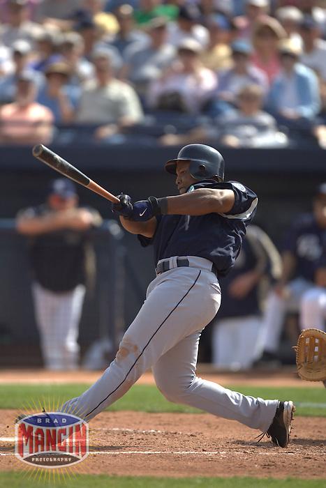 Adrian Beltre. Baseball: Seattle Mariners vs San Diego Padres. Phoenix, AZ 3/3/2005 MANDATORY CREDIT: Brad Mangin/Sports Illustrated