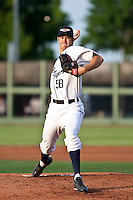 Luke Putkonen (58) of the Lakeland Flying Tigers during a game vs. the Charlotte Stone Crabs May 11 2010 at Joker Marchant Stadium in Lakeland, Florida. Charlotte won the game against Lakeland by the score of 3-0.  Photo By Scott Jontes/Four Seam Images