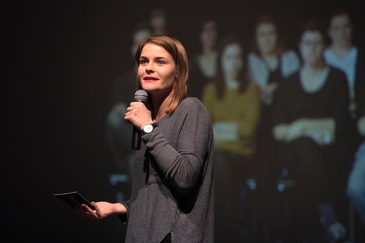 Verleihung Essaypreis 2016. Hazel Brugger. © Adrian Moser