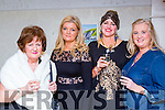 Kate Piggot, Angela Kellleher, Patricia Looney, Margo Ann Murphy at the Lisa Fitzpatrick style night in  the Muckross Park Hotel on Friday night