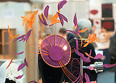 Annie Lamb (www.anniel.co.uk), milliner at the Craft & Design Show (www.craftinfocus.com), Spectrum Leisure Centre, Guildford.