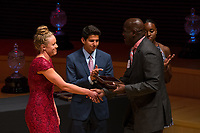 Stanford, CA - June 14, 2018: The Stanford Athletics Board Awards Ceremony in Bing Concert Hall.