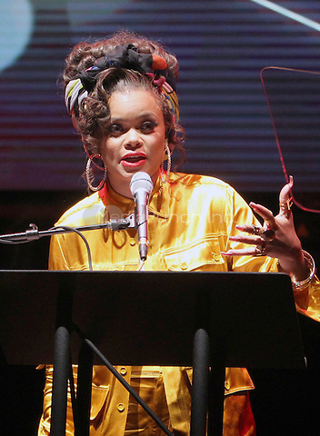 Hollywood, CA - February 19: Andra Day, At 3rd Annual Hollywood Beauty Awards_Show, At Avalon Hollywood In California on February 19, 2017. Credit: Faye Sadou/MediaPunch