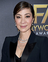 04 November 2018 - Beverly Hills, California - Michelle Yeoh. 22nd Annual Hollywood Film Awards held at Beverly Hilton Hotel. <br /> CAP/ADM/BT<br /> &copy;BT/ADM/Capital Pictures