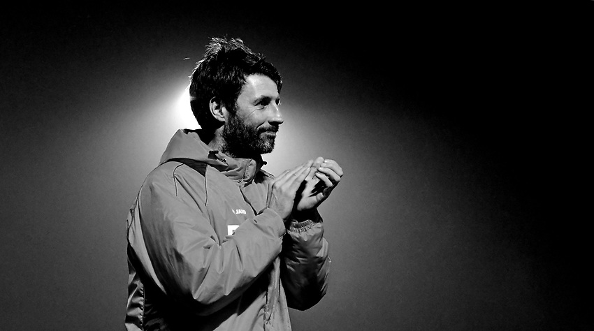 Lincoln City manager Danny Cowley <br /> <br /> Photographer Chris Vaughan/CameraSport<br /> <br /> Vanarama National League - Solihull Moors v Lincoln City - Tuesday 31st January 2017 - Damson Park - Solihull<br /> <br /> World Copyright © 2017 CameraSport. All rights reserved. 43 Linden Ave. Countesthorpe. Leicester. England. LE8 5PG - Tel: +44 (0) 116 277 4147 - admin@camerasport.com - www.camerasport.com