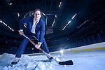 Tampa Bay Lightning center Vincent Lecavalier photographed at the St Pete Times Forum in Tampa, Florida on December 18, 2005 for L'Actualite magazine.