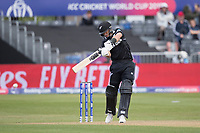 Ross Taylor (New Zealand) drives through point during West Indies vs New Zealand, ICC World Cup Warm-Up Match Cricket at the Bristol County Ground on 28th May 2019
