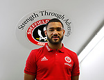 Cameron Carter-Vickers of Sheffield Utd joins Sheffield Utd during the Championship match at Bramall Lane, Sheffield. Picture date 26th August 2017. Picture credit should read: Simon Bellis/Sportimage