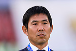 Japan Head Coach Hajime Moriyasu is seen prior to the AFC Asian Cup UAE 2019 Group F match between Oman (OMA) and Japan (JPN) at Zayed Sports City Stadium on 13 January 2019 in Abu Dhabi, United Arab Emirates. Photo by Marcio Rodrigo Machado / Power Sport Images