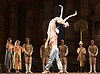 La Bayad&egrave;re<br /> The Mariinsky Ballet <br /> at The Royal Opera House, London, Great Britain <br /> rehearsal <br /> 11th August 2011 <br /> <br /> Sergey Salikov (as The Slave)<br /> <br /> Uliana Lopatkina (as Nikiya, a bayadere)<br /> <br /> Photograph by Elliott Franks
