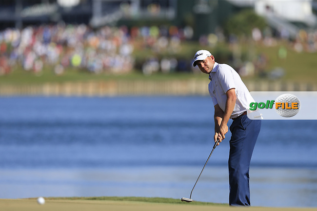 Bill Haas (USA) during round 3 of the Players, TPC Sawgrass, Championship Way, Ponte Vedra Beach, FL 32082, USA. 14/05/2016.<br /> Picture: Golffile | Fran Caffrey<br /> <br /> <br /> All photo usage must carry mandatory copyright credit (&copy; Golffile | Fran Caffrey)