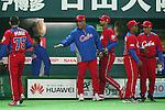 Victor Mesa (CUB), .MARCH 1, 2013 - WBC : .2013 World Baseball Classic .Exhibithion Game .between Fukuoka Softbank Hawks 8-10 Cube .at Yafuoku Dome, Fukuoka, Japan. .(Photo by YUTAKA/AFLO SPORT) [1040]