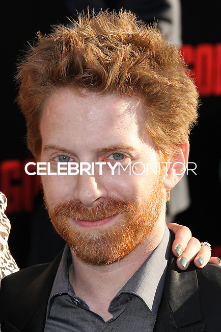 "HOLLYWOOD, LOS ANGELES, CA, USA - MAY 08: Seth Green at the Los Angeles Premiere Of Warner Bros. Pictures And Legendary Pictures' ""Godzilla"" held at Dolby Theatre on May 8, 2014 in Hollywood, Los Angeles, California, United States. (Photo by Xavier Collin/Celebrity Monitor)"