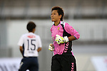 Ayumi Kaihori (INAC),<br /> AUGUST 17,2014 - Football / Soccer : 2014 Nadeshiko League, between Urawa Reds Ladies 0-1 INAC KOBE LEONESSA at Urawakomaba Stadium, Saitama, Japan. (Photo by Jun Tsukida/AFLO SPORT)