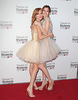 UNIVERSAL CITY, CA - JULY 22: Bella Thorne and Dani Thorne at the 2012 Staples For Students 'Party' For A Cause hosted by Staples, DoSomething.org and Bella Thorne at the Globe Theatre at Universal Studios on July 22, 2012 in Universal City, California © mpi21/MediaPunch Inc. /NortePhoto.com*<br />