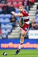 Picture by Alex Whitehead/SWpix.com - 11/03/2018 - Rugby League - Betfred Super League - Wigan Warriors v Wakefield Trinity - DW Stadium, Wigan, England - Wigan's Sam Tomkins.